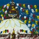 Buddistische Stupa